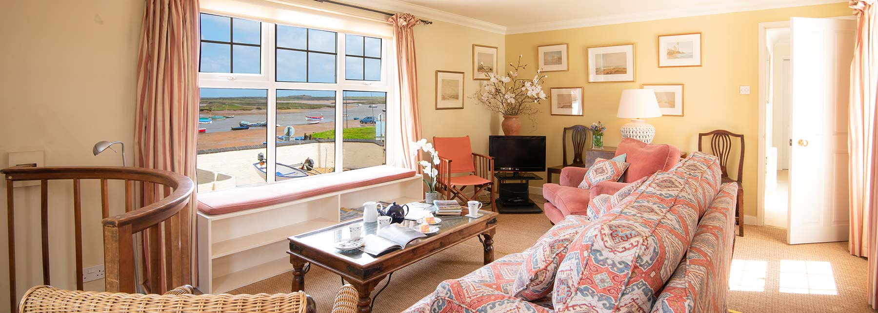 Flagstaff House - West Wing, Holiday Cottage, Burnham Overy Staithe, north Norfolk